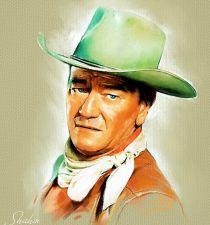 John Wayne's picture